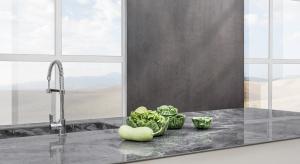 Nowe włoskie płyty ze spieków kwarcowych o grubości 12 mm, idealne do zastosowania na blaty kuchenne i łazienkowe.