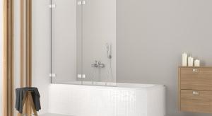 Parawany nawannowe umożliwiają szybką zmianę standardowej wanny kąpielowej w przestrzeń prysznicową. To rozwiązanie, które sprawdzi się zarówno w małych, jak i większych łazienkach.