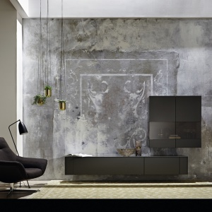 Meble do salonu z kolekcji Gentis marki Hulsta. Fot. Hulsta