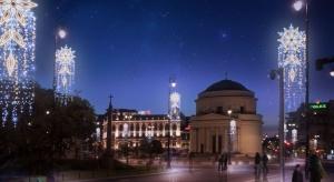 W tym roku iluminacje poza tradycyjnie ozdabianym Traktem Królewskim i Starym Miastem będzie można podziwiać także w nowych lokalizacjach.