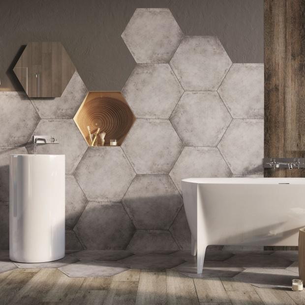 Łazienka  w stylu naturalnym - modne propozycje