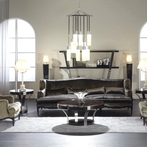 Oświetlenie w salonie -  zaprojektuj z architektem