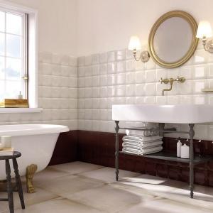 Płytki Armonia w łazience. Fot. Ceramstic