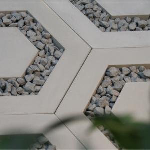 Modern Line. Płyta ażurowa heksagonalna. Fot. Bruk