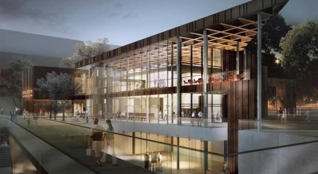 Studio Architektoniczne Kwadrat zaprojektowało Centrum turystyczne Kunszt Wodny w Gdańsku