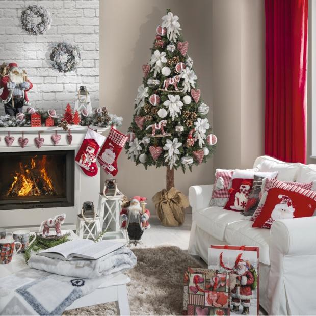 Zobaczcienową kolekcję świątecznych ozdób i dekoracji