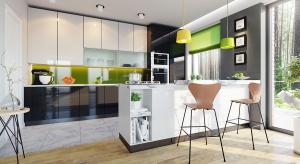 Kuchnia połączona z salonem jest obecnie najpopularniejszą opcją wybieraną przez osoby <br />budujące dom. Przestrzeń gastronomiczno-towarzyska to praktyczne rozwiązanie, ale i <br />moda na otwarte przestrzenie.