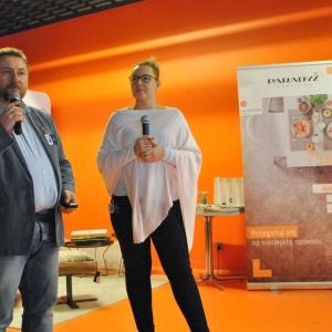 O możliwościach materiału Corian od marki DuPont opowiadała m.in. Emilia Cichocka.