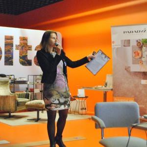 Klaudia Zawistowska z Olta Concept Store przedstawiła ofertę nowego salonu meblowego i wyposażenia wnętrz w Białymstoku.