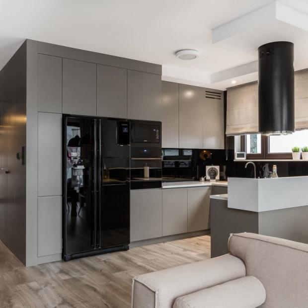 Krakowski apartament w kolorach ziemi
