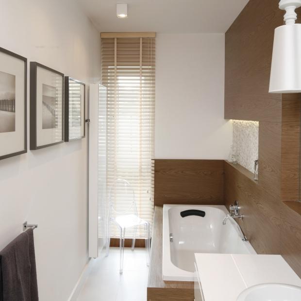 Wąska łazienka Dobrzemieszkajpl