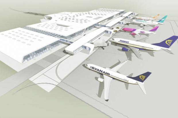 Port Lotniczy Lublin rozbuduje terminal pasażerski