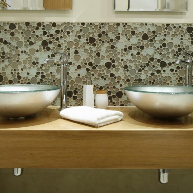 Gotowy projekt łazienki w stylu retro