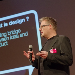 Forum Dobrego Designu, 7 grudnia 2016. Wykład Henrika Pedersena, gościa specjalnego. Fot. Piotr Waniorek
