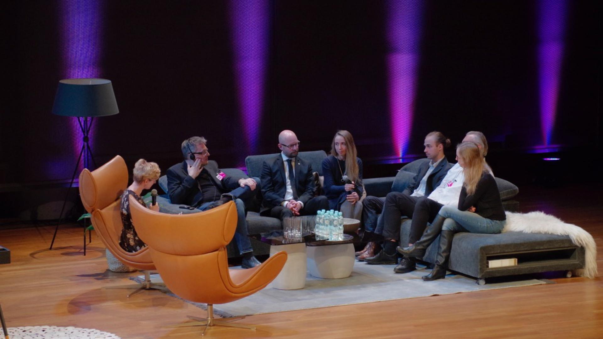 Forum Dobrego Designu, 7 grudnia 2017, sesja inauguracyjna. Fot. Piotr Waniorek