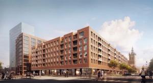 Nowa gdańska inwestycja to kompleks dwóch budynków 5 i 10-kondygnacyjnych z apartamentami, przestrzenią biurową, usługami. Elewacje budynków zdobi ręcznie wyrabiana cegła, która oddaje historyczny charakter śródmiejskiej zabudowy. Właśnie wm