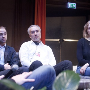 Od lewej: Maja Ganszyniec, Jan Kochański, Bartosz Piwowarski, Izabela Bołoz. Fot.  Paweł Pawłowski, Piotr Waniorek