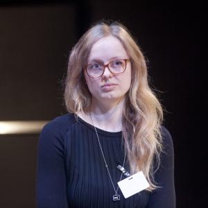 Izabela Bołoz, projektantka, autorka instalacji miejskich, założycielka biura projektowego w Eindhoven w Holandii. Fot.  Paweł Pawłowski, Piotr Waniorek