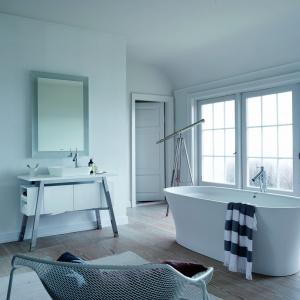 Przestrzeń łazienki. Tytuł Dobry Design. Seria łazienkowa Cape Cod/Duravit