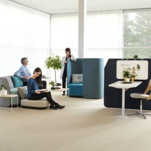 Wnętrza i obiekty publiczne. Tytuł Dobry Design – Seria mebli biurowych Fields/Kinnarps