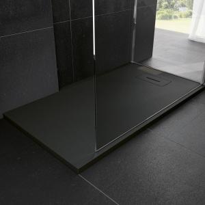 Przestrzen łazienki. Wyróżnienie - Brodzik konglomeratowy Novosolid/Novellini