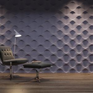 Podłogi i ściany. Wyróżnienie - Panel Dekoracyjny 3D Holes/Dunes