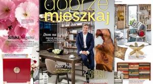 W sklepach można już kupić najnowszy numer magazynu Dobrze Mieszkaj. Gwiazdą tego wydania jest znany aktor Piotr Polk, który opowiedział nam o swojej pasji do mebli i wziął udział w wyjątkowej sesji zdjęciowej dla magazynu Dobrze Mieszkaj.