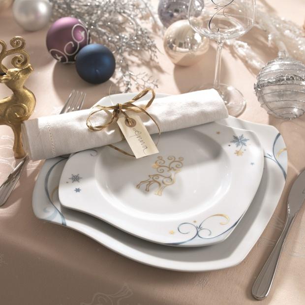 Świąteczny stół - porcelana na uroczyste okazje