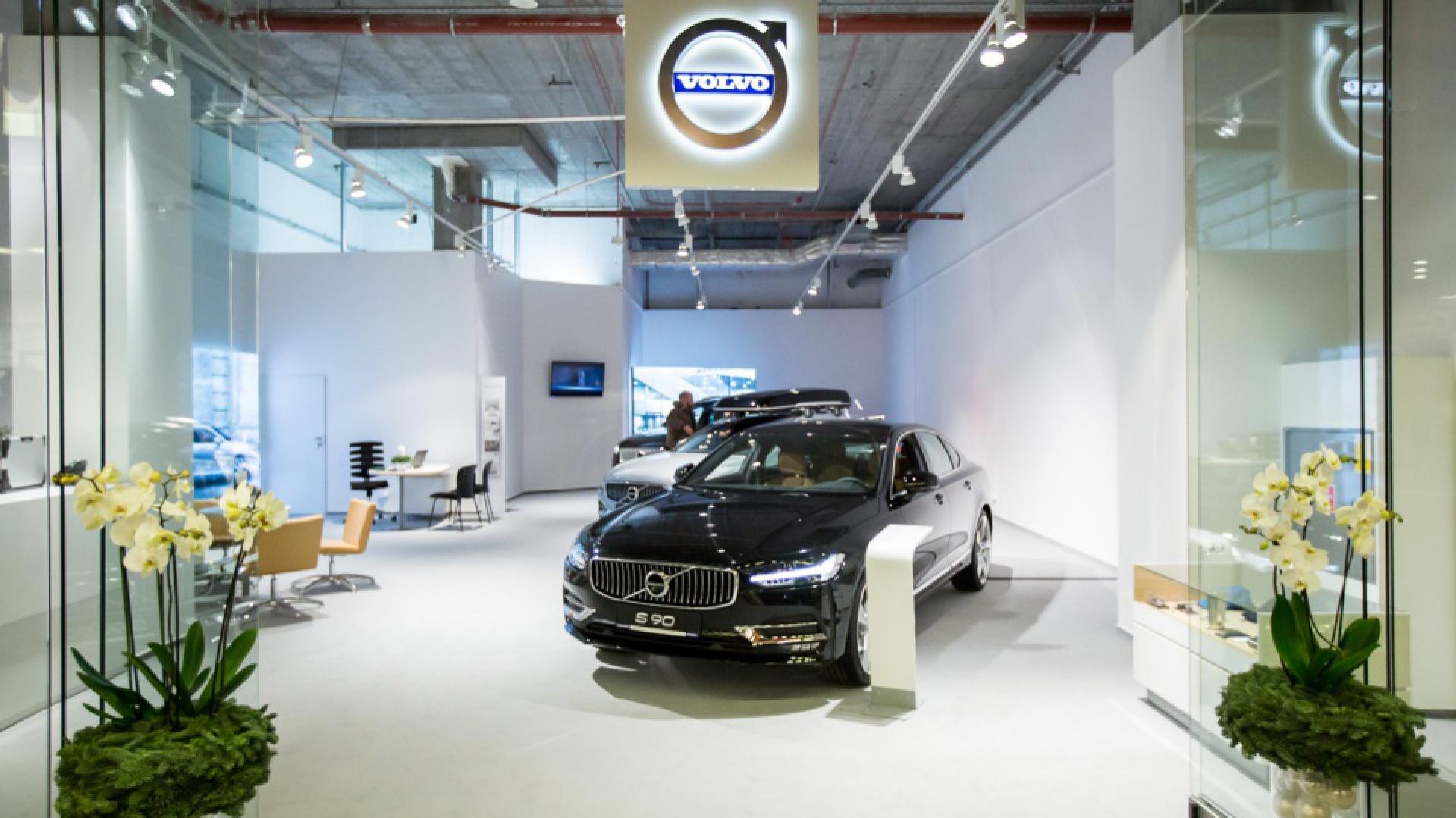 Showroom firma Karlik i marka Volvo, fot. J. Wittchen