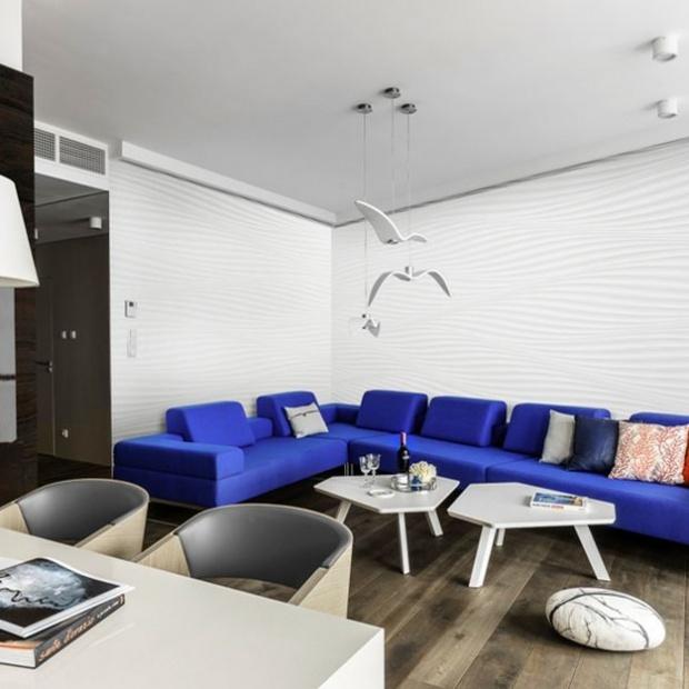 Nowoczesny apartament z widokiem na port gdyński