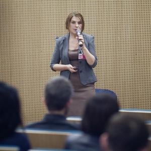 Agnieszka Polkowska ze Studia Prostych Form
