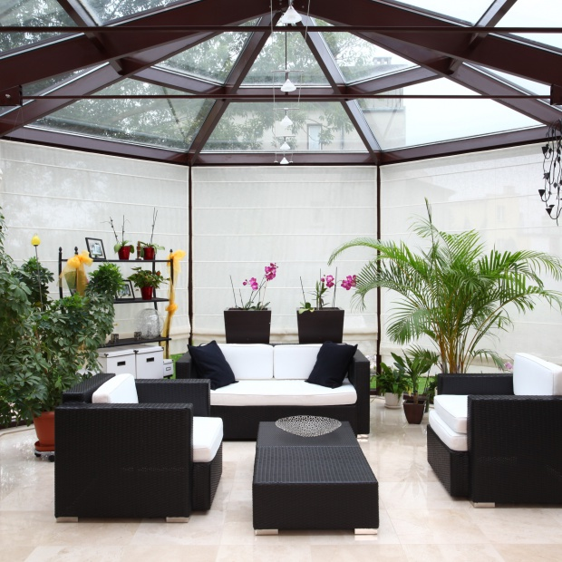 Ogród zimowy - tak można urządzić dodatkowy pokój