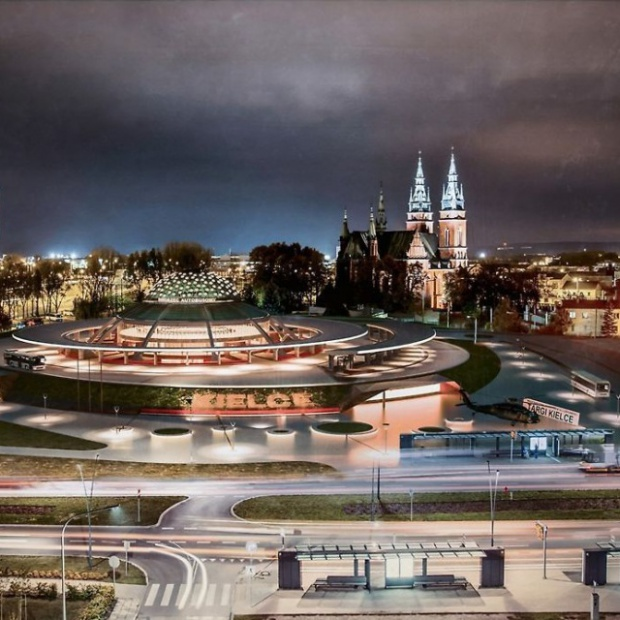 Zobacz jak będzie wyglądał dworzec PKS w Kielcach po modernizacji