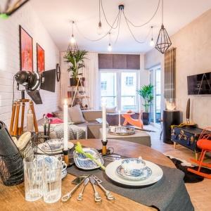 Apartament pokazowy Nowa Papiernia Ultra Nova aranżacja dla rodziny z dzieckiem. Fot. Nowa Papiernia