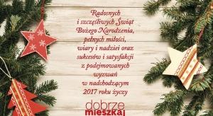 Najlepsze życzenia od Wydawnictwa Publikator dla wszystkich czytelników portalu Dobrze Mieszkaj.