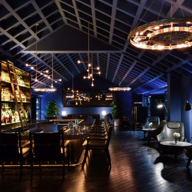 Kun Whiskey Bar: projekt chińskiego klubu w stylu lat 20