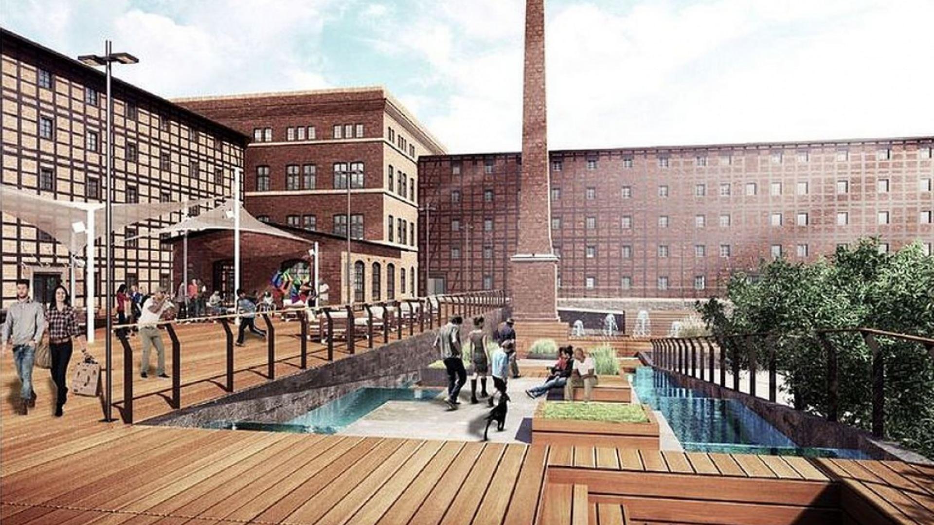 Pracownia Łukasza Szlepera zaprojektowała przebudowę młyna według koncepcji opracowanej przez Nizio Design International, fot. UM Bydgoszcz