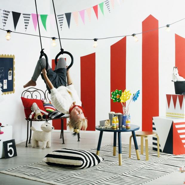 Pokój dziecka - pomysły z motywem cyrkowym