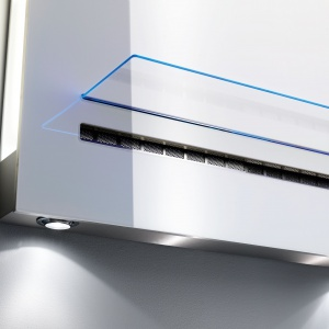 Oświetlenie w kuchni: okap Velge VCCH 9003.1 W. Fot. Velge