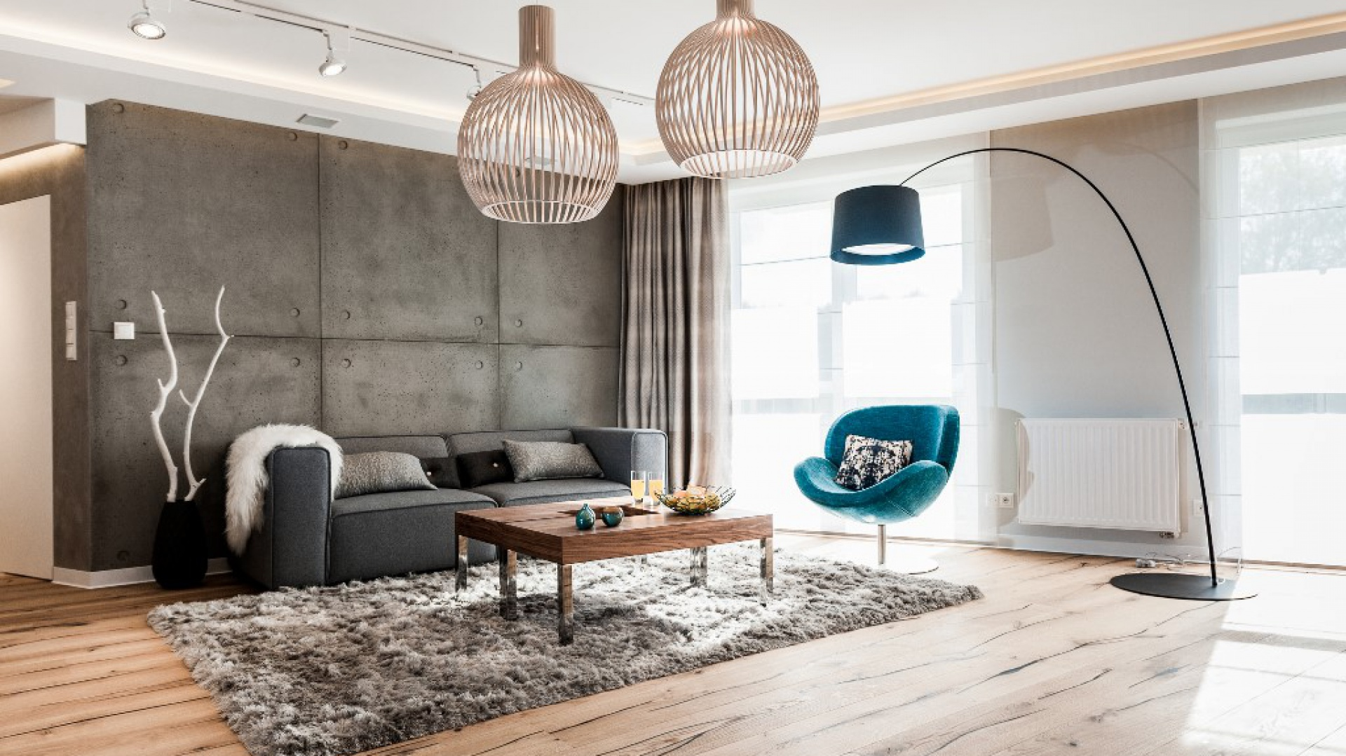 Piękne mieszkanie w Gdańsku, projekt Arte Dizain