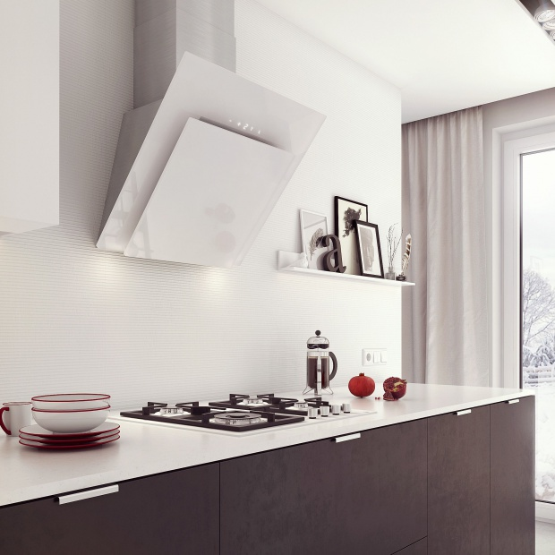 Świeże powietrze w kuchni - nowe okapy wertykalne