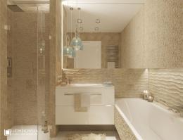 Aranżacja motyle - przytulna łazienka