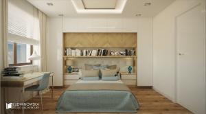 Aranżacja motyle - sypialnia w dwóch odsłonach