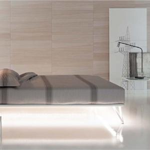 Nowoczesne łóżko Essentia marki Flou. Fot. Flou / Galeria Heban