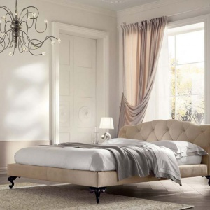 Łóżko z kolekcji George marki Cantori. Fot.  Cantori / Galeria Heban