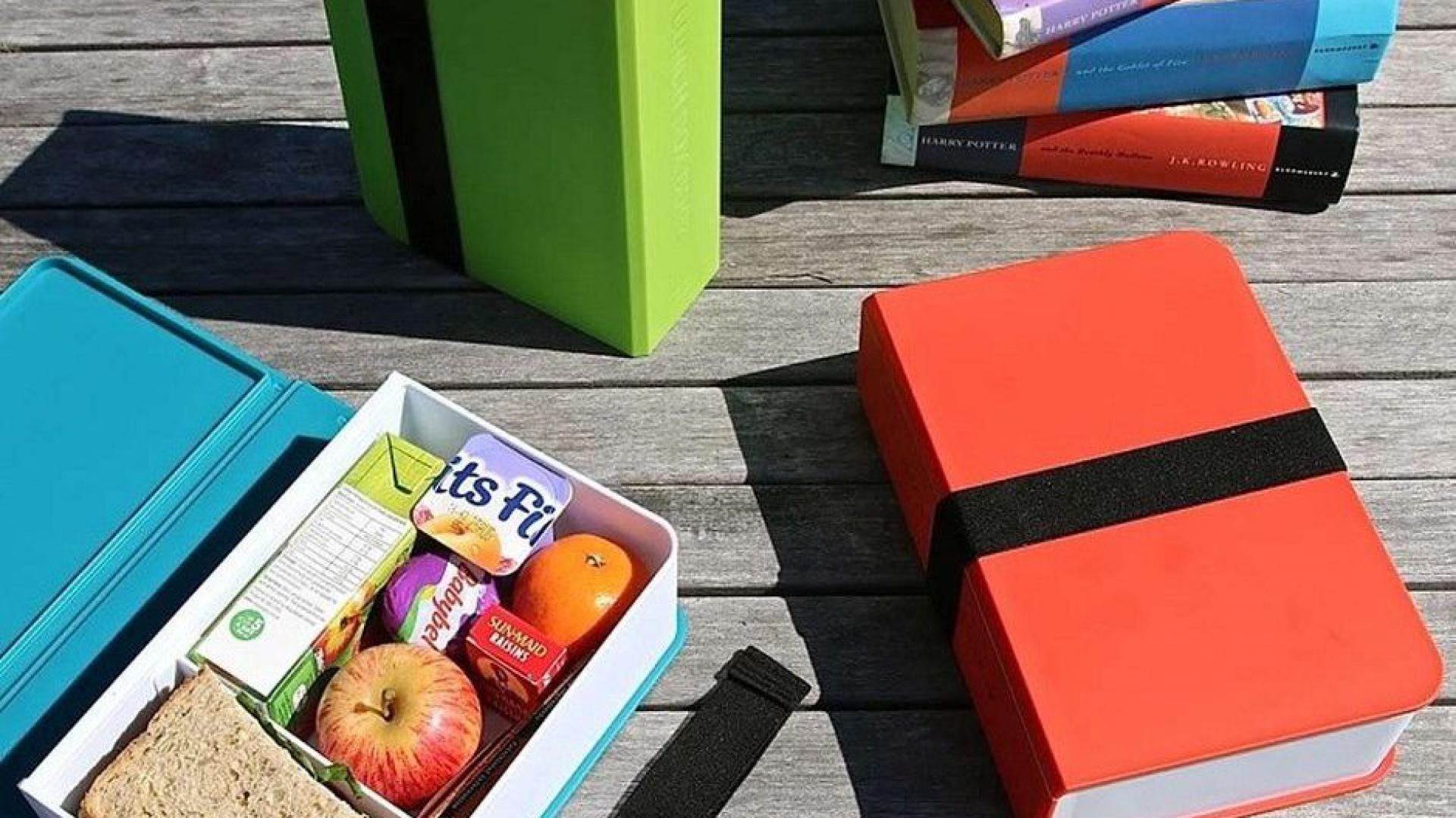 Lunch box Książka, 89 zł. Fot. Black + Blum