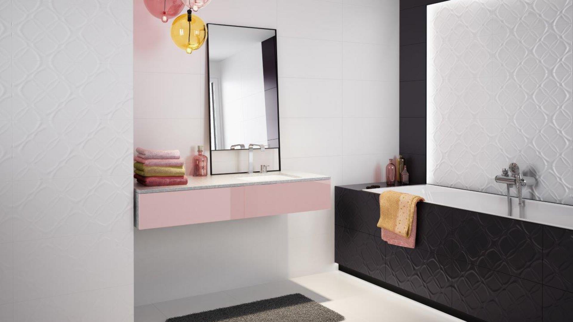 Nowości Do łazienki Płytki Ze Strukturą