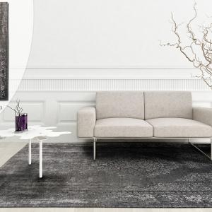 I kolejny perski wzór z tej serii – jeszcze bardziej przetarty, jeszcze bardziej pałacowy i jeszcze bardziej szlachetny. Te dywany naprawdę robią wrażenie! Fot. Carpets&More.