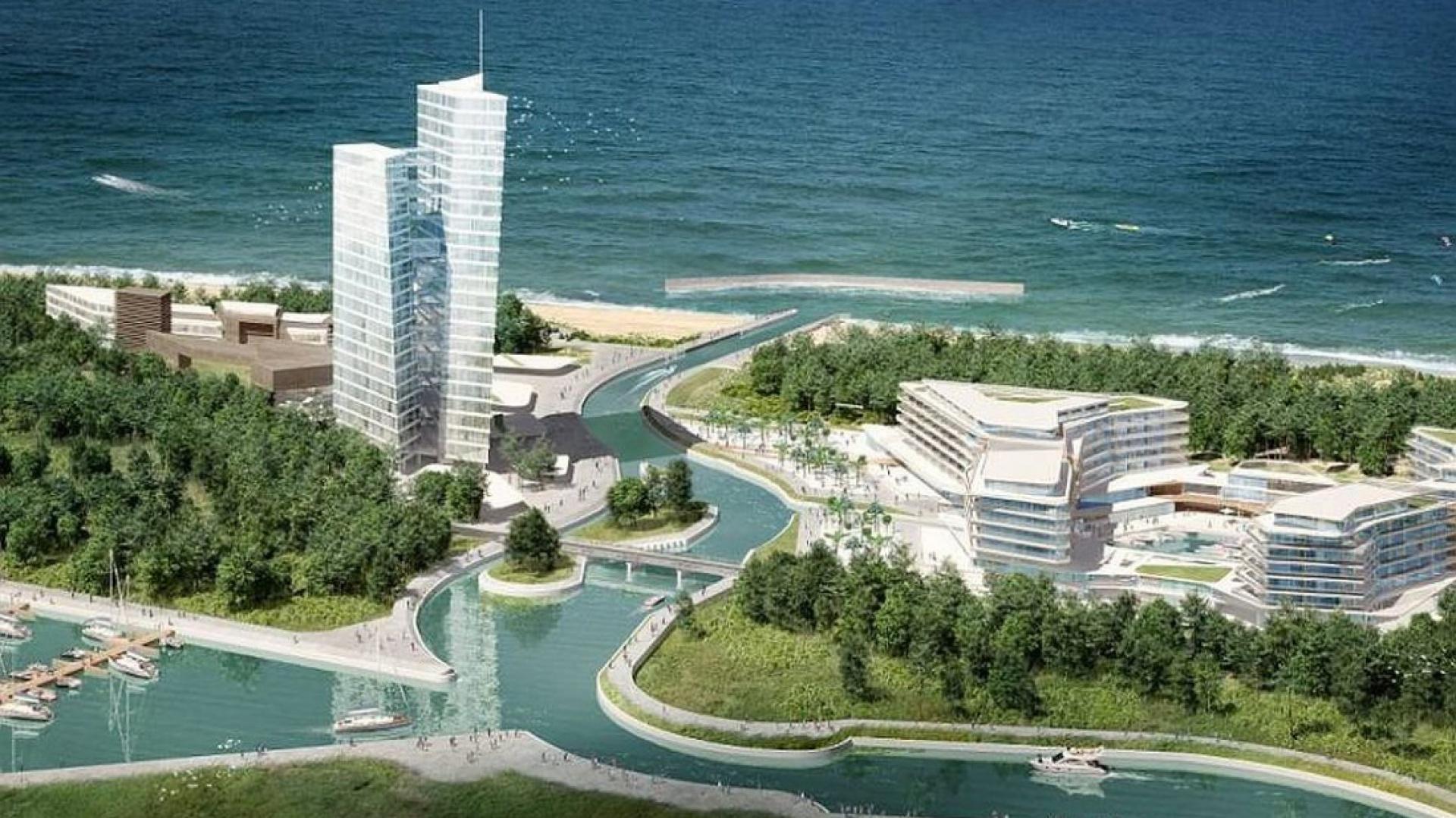 Oto nowe miasto nad Bałtykiem Dune City fot. materiały prasowe