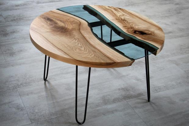 Meble do jadalni - wyjątkowy stół z drewna